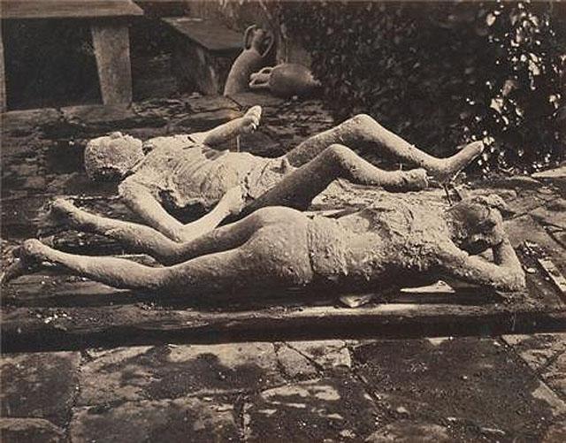 3,Pompei Halkı Lut Kavmi ile Aynı Sona Uğradı