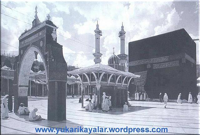 Eshab-ı kiramdan Ebu Ümâme hazretlerine, dertten ve borçtan kurtulması için Peygamberimizin tavsiye ettigi dua...Kabe,Old-picture-of-Kaaba copy