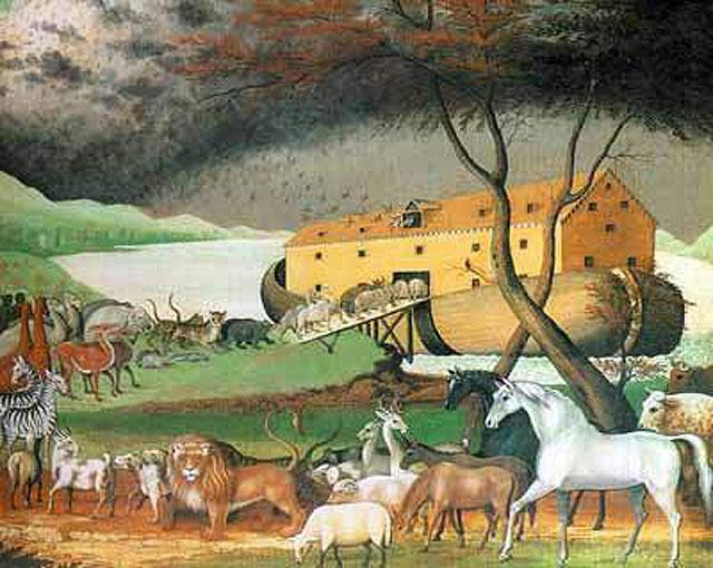 Hz. Nûh (a.s.)'un Tebliğ Mücâdelesindeki Örneklik,noahs_ark_animals