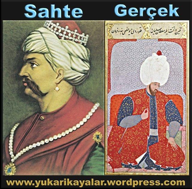 Yavuz Sultan Selim küpeli olarak,yavuzun kupesi gercekmi,