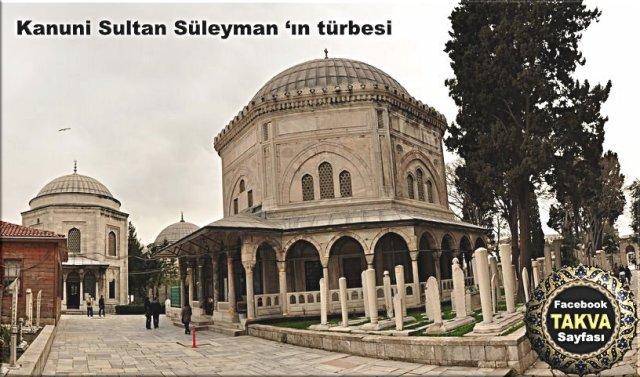 kanuni-sultan-süleyman-türbesi
