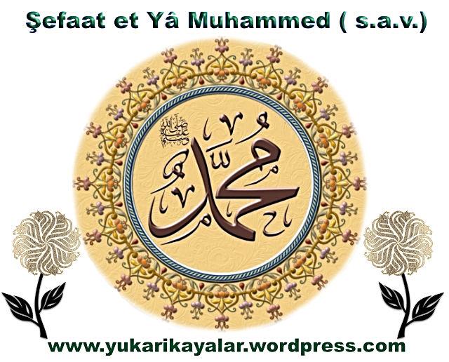 Şefaat et Yâ Muhammed ( s.a.v.)
