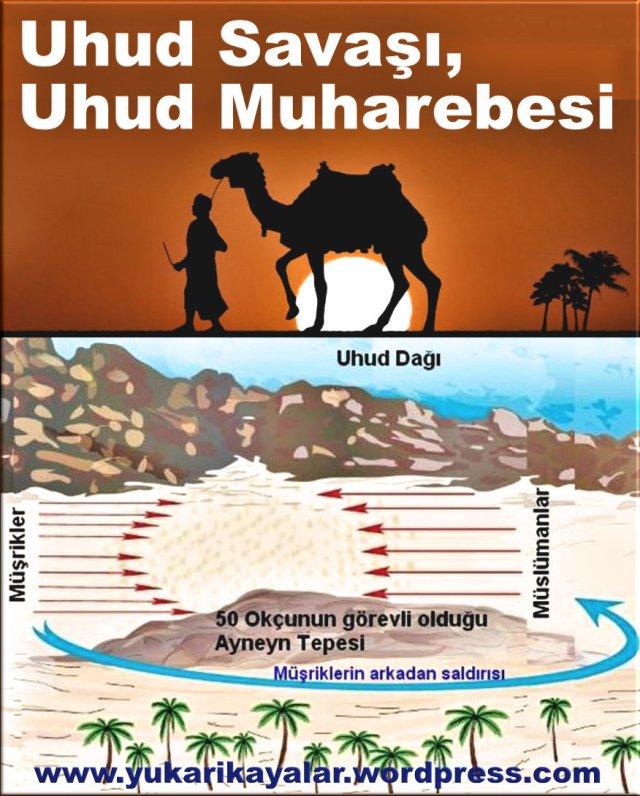 Uhud Savaşı,Uhud Muharebesi,hz hamza şehir, hz vahşi,islam tarihi,,hicret,medine,m
