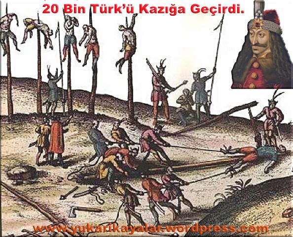 20 Bin Türk'ü Kazığa Geçirdi.,Kazıklı Voyvoda