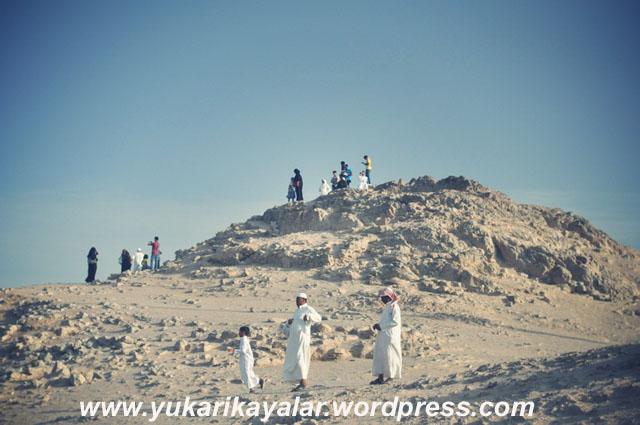 Uhud dagi,Uhud dağından ağır gelen amel