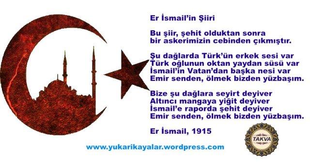 Er İsmail_in Şiiri,canakkale,