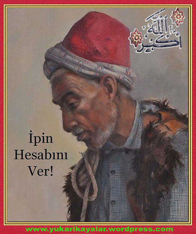 İpin Hesabı,Mezardaki Fakir Adam ( 1 Kurus`un hesabi ),kabirdeki adam,kabir azabı,kabirde sorgu,kabir sorusu,kabir