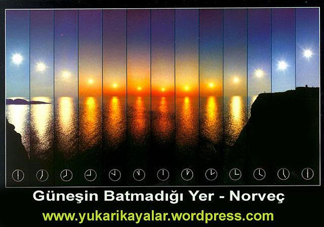 Güneşin Batmadığı Yer - Norveç,Kutuplarda Oruç