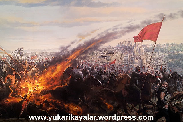istanbulun fethi,1453,fatih sultan mehmet,İki büyük fetihten biri,istanbulun-fethifatis-sultan-mehmetistanbul-surlarikonstantinopolislambolosmanliottomanempireserife-sevval-jardelen