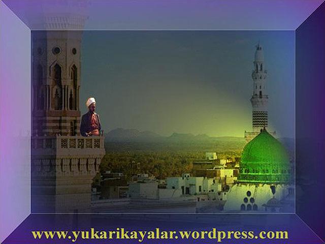 Hazret-i Bilal,Medine'yi Aglatan Ezan