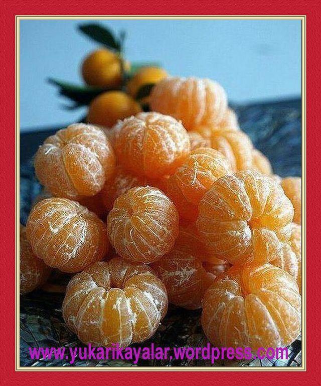 Bazı Meyveler Ve Sebzelerin Faydaları,mandalin,portakal,narenciye