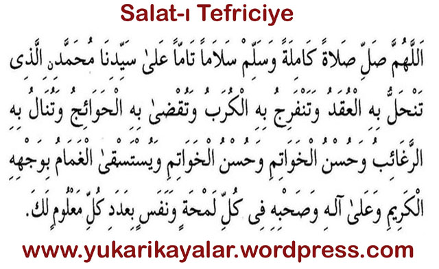 SALAT-I TEFRİCİYE
