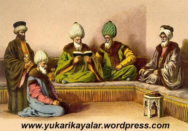 Osmanlı Devletinin kurucusu Osman Gâzi çocukluğundan itibaren büyük âlimlerin,OSMANLI DEVLETİNİN KURULUŞUNDA ÂLİMLER