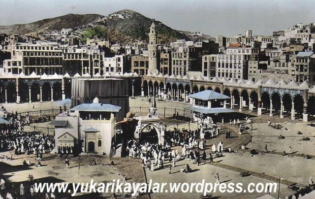 1Kâbeye Giren Emniyettedir - Harem-i Şeriftold kaaba pictures,old mecca pictures,kaaba mecque,vue-de-la-mecque- copy,Fotografías antiguas de La Meca copy,vue-aérienne-de-la-Mecque-et-de-la-Masjid-al-Haram-en-1988