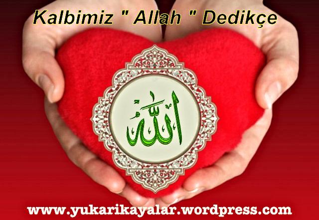 Allah'ın Zâtı hakkında düşünce caiz mi,Kalp,Allah,,kuran,quran,coran,muhammad,Kalbimiz Allah Dedikçe…,Quran-on-heart-shaped-pillow-red