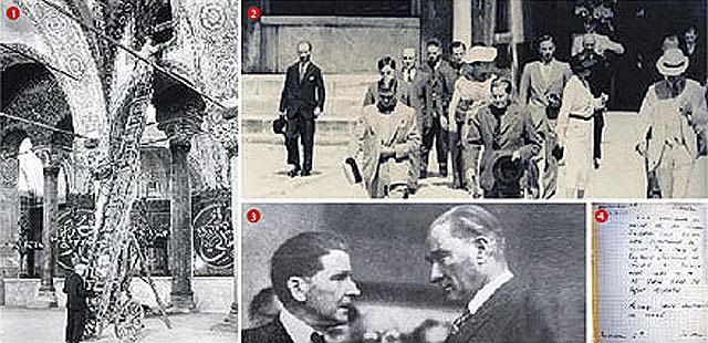 Atatürk'ten, Ayasofya'yı müze yapmasını Amerika istemiş