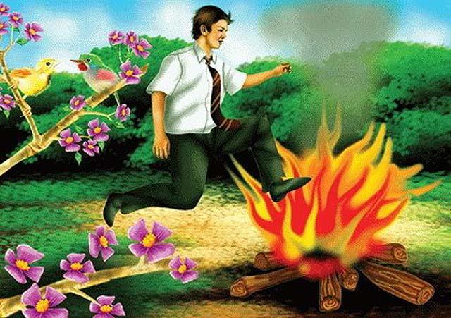 ateşe tapanlar,Kabilin Ateşe Tapması,habil ile kabil,adem,havva
