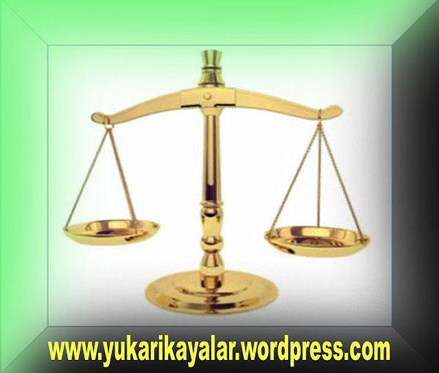 Mizan,terazi,mahser,Kıyamet günü hasımlar ve hakların iadesi
