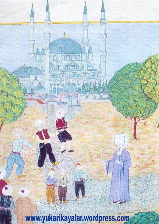 Egri Minare ve Çocuk Mimar  Sinan, EĞRİ MİNARE VE ÇOCUK