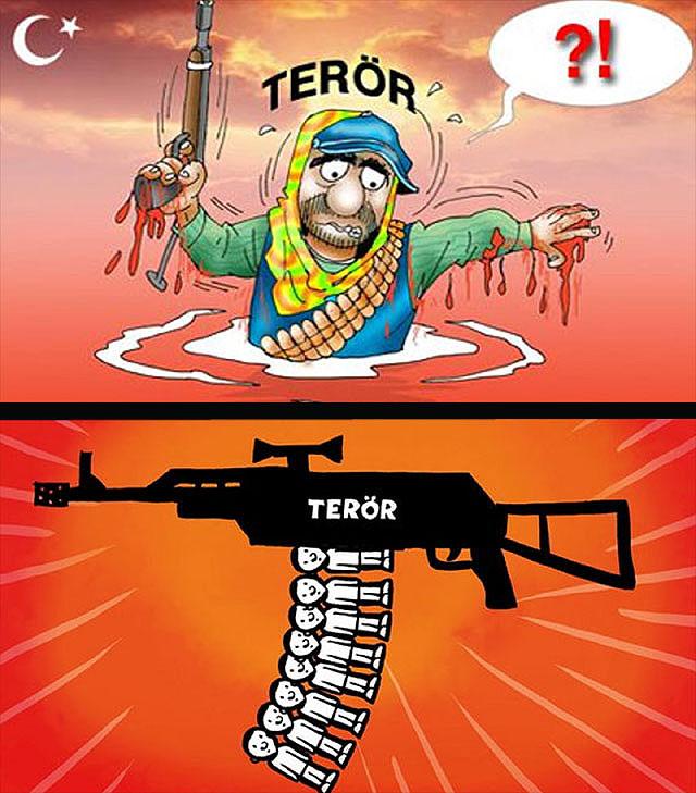 Terörden Kurtulmanı Yolu,terror,