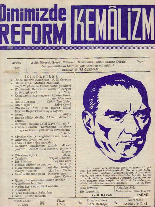 CEDİTÇİLİK ( Dinde Reform ) ÇALIŞMALARI