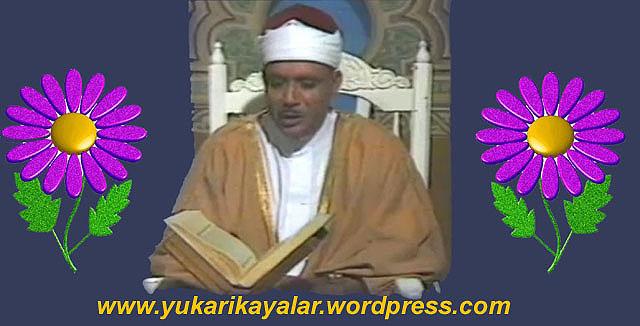 Abdulbasit abdussamed,Kur'ân-ı Kerimi Okumada Dikkat Edilecek Husus