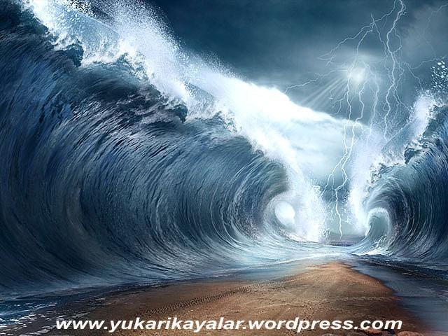 Mucizeye inanmak Kur'an-ı kerimin emri,kizil deniz,firavun,musa,mucize,musa,miracle copy