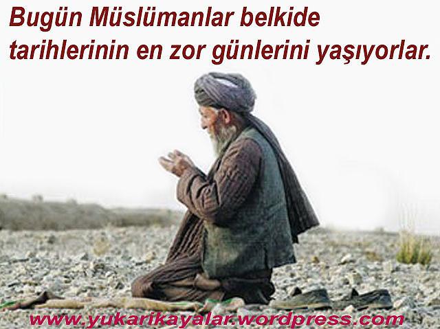 Bugün Müslümanlar belkide tarihlerinin en zor günlerini yaşıyorlar,Dinler Arası Diyalog Tuzagı – Mehmet Oruç.