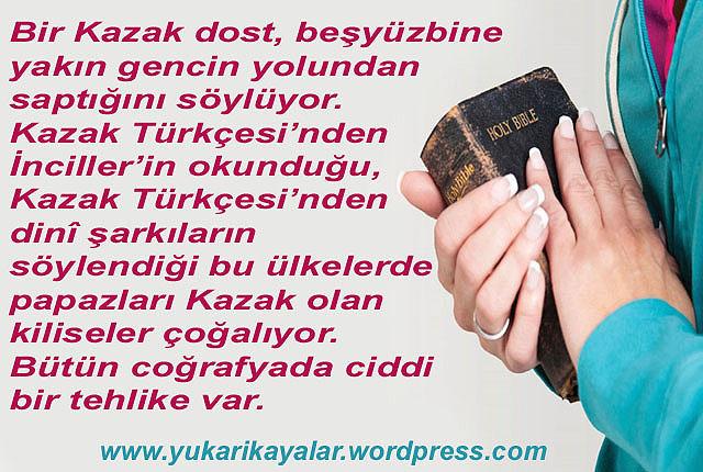 BEŞYÜZBİN KAZAK GENCİ İNCİL OKUYOR!
